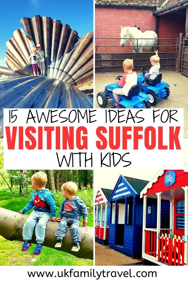 15 Awesome Ideas for Visiting Suffolk with Kids