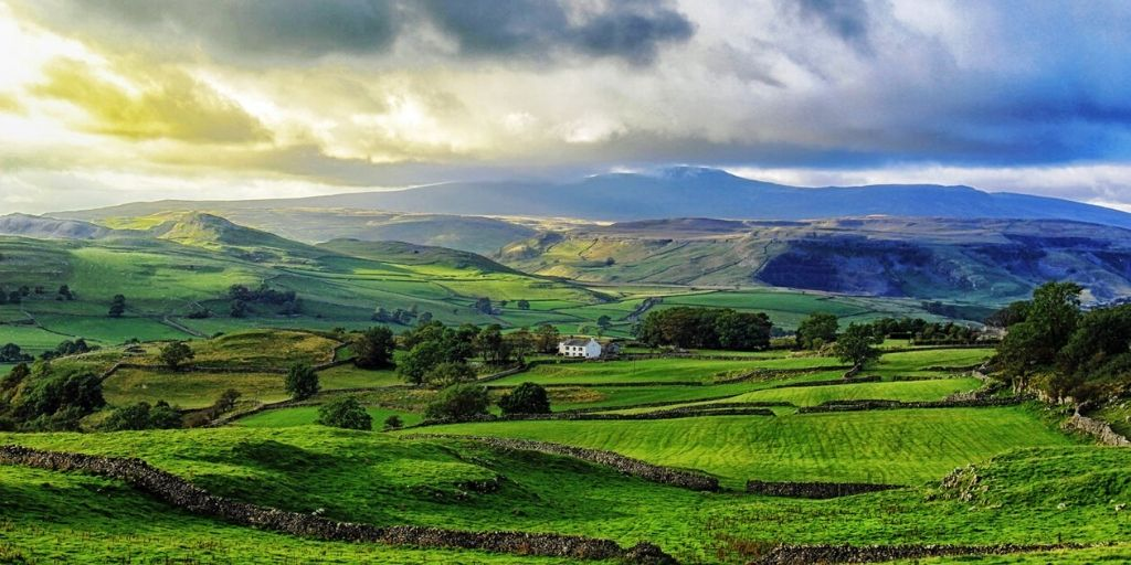 yokshire dales national parks uk