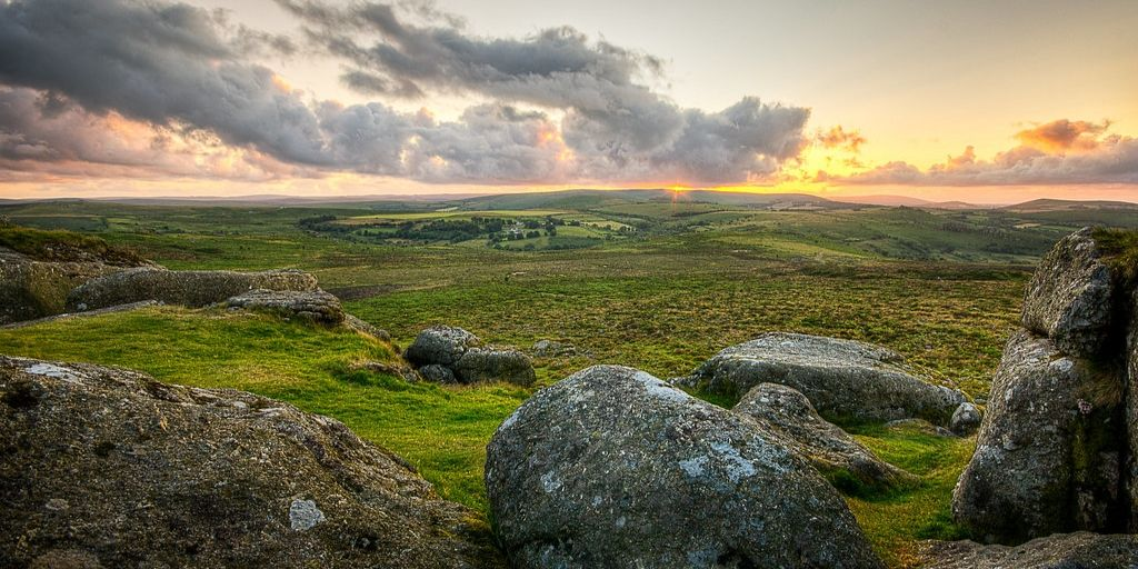 dartmoor national park uk