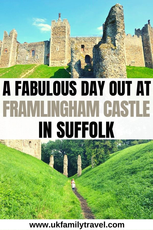 A fabulous day out at Framlingham Castle in Suffolk