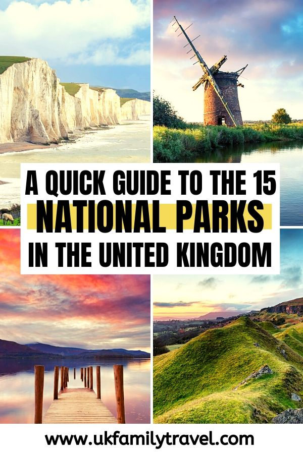 A quick guide to the 15 national parks in the UK