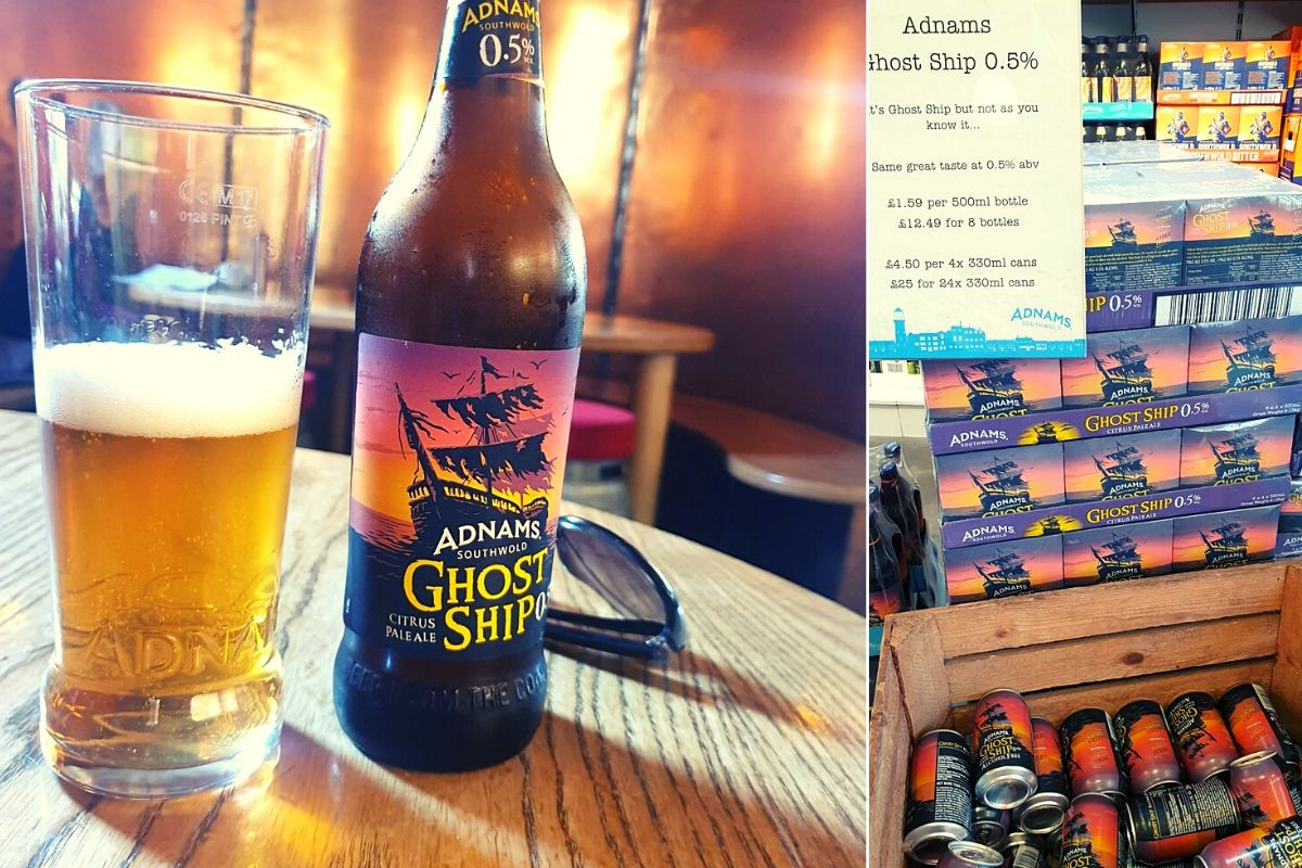 Adnams Ghost Ship 0.5 beer