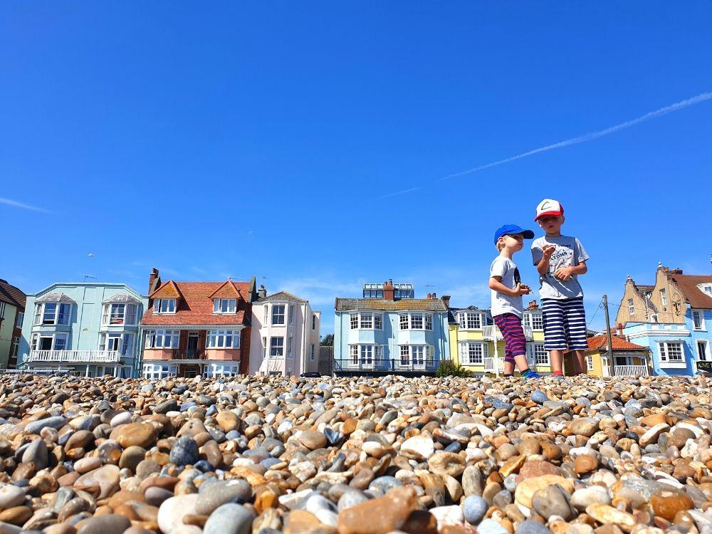 Aldeburgh beachfront - one of the best Suffolk beaches