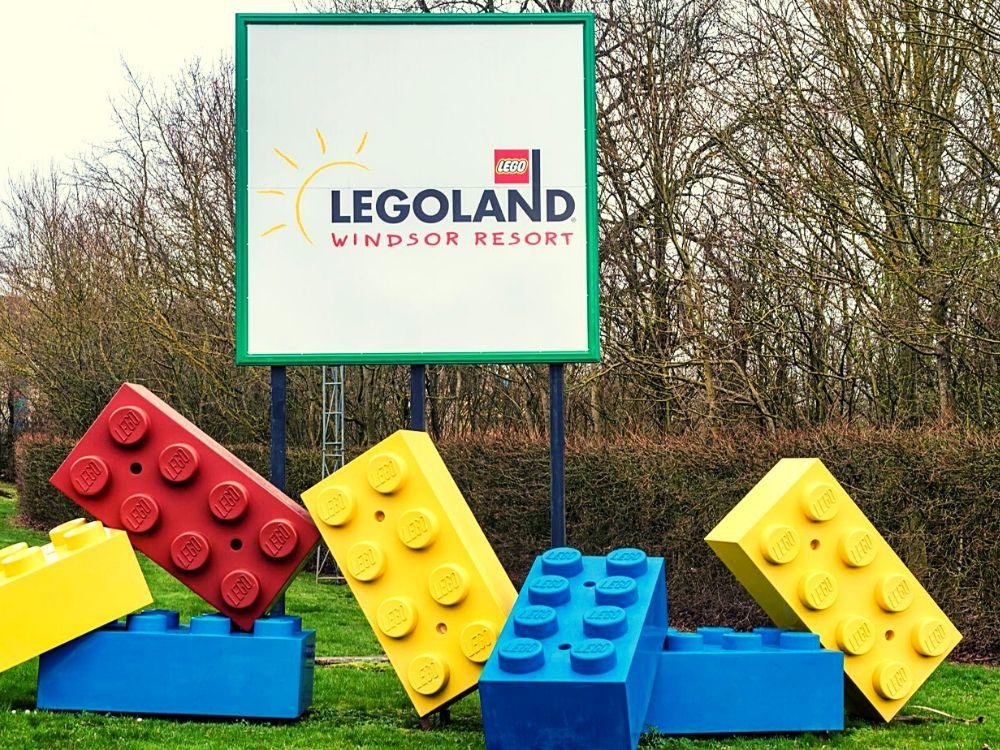 Arriving at Legoland Windsor