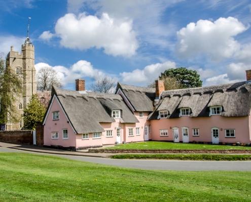Cavendish village in Suffolk