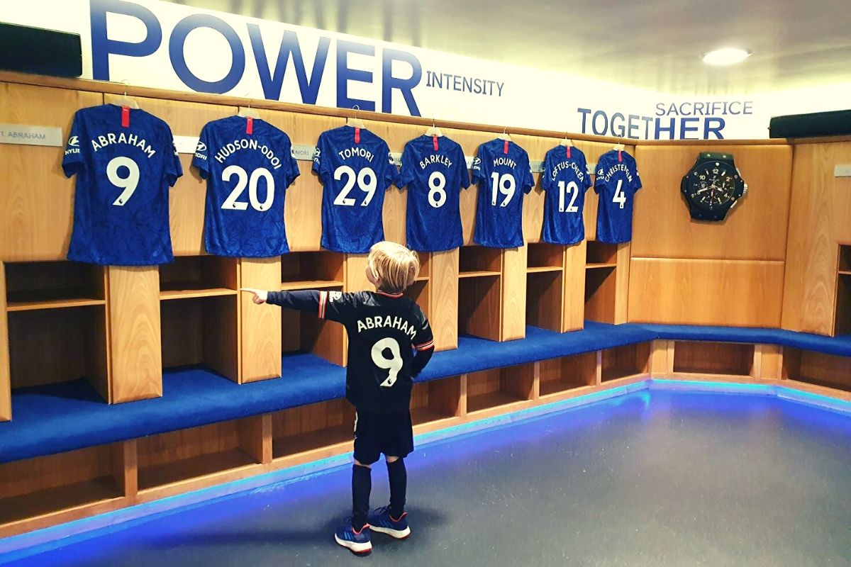 Chelsea Football Club Home Players Dressing Room