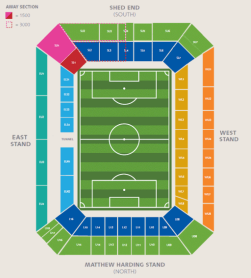 Chelsea Stadium Seating Plan