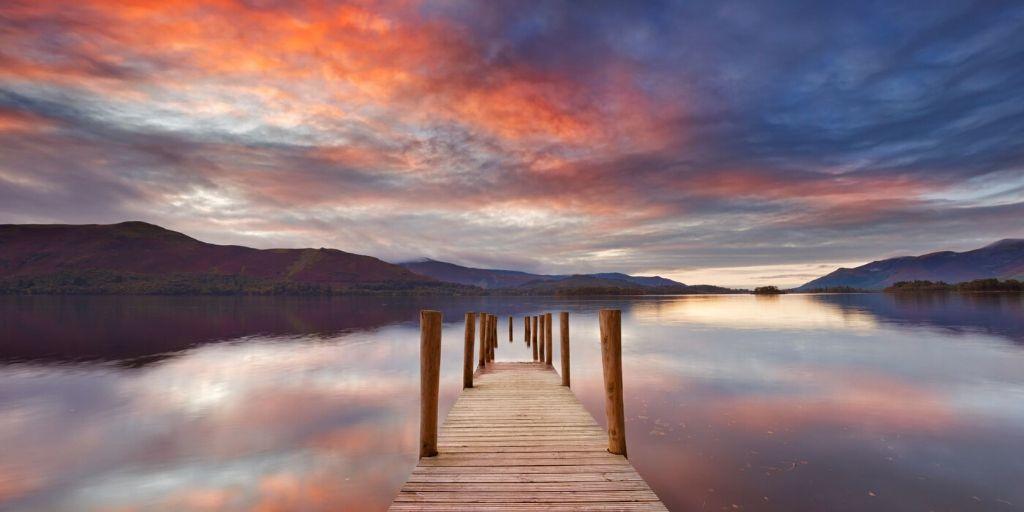 Derwent Water Lake District National Park