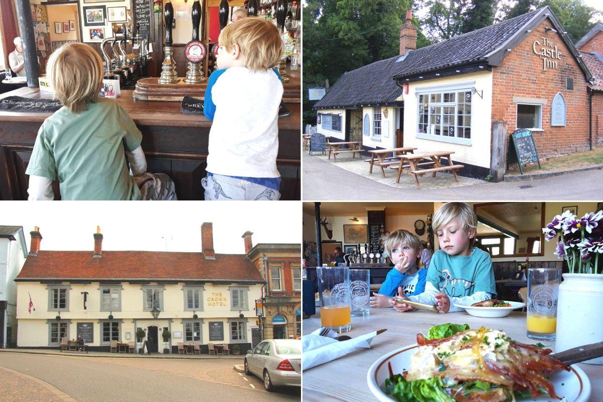 Family-friendly pubs in Framlingham