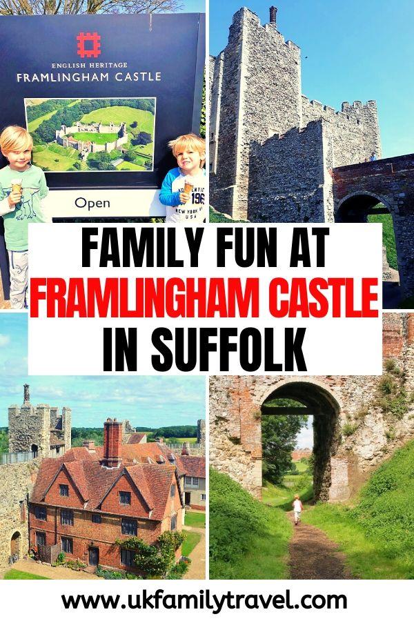 Family fun at Framlingham Castle in Suffolk