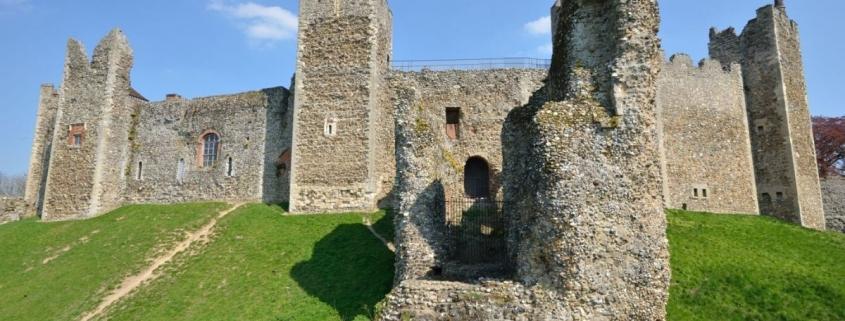 Framlingham Castle in Suffolk