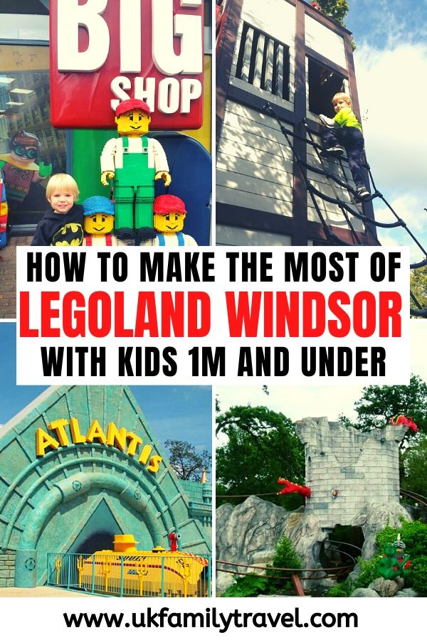 How to make the most of Legoland Windsor with kids 1m and under