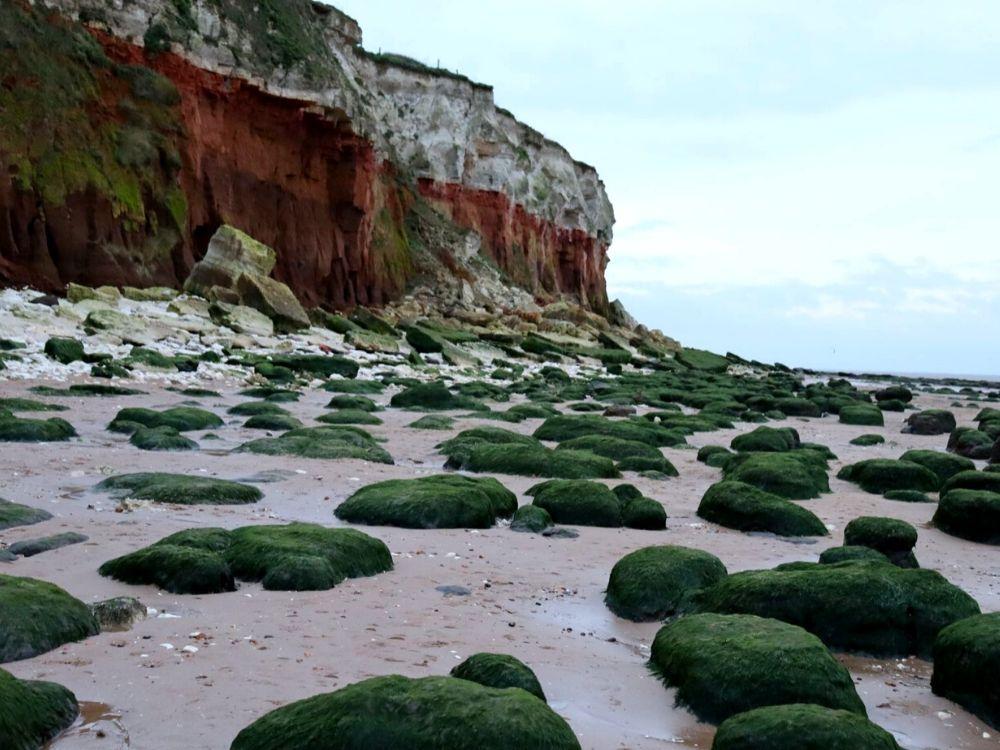 Hunstanton Beach in Norfolk