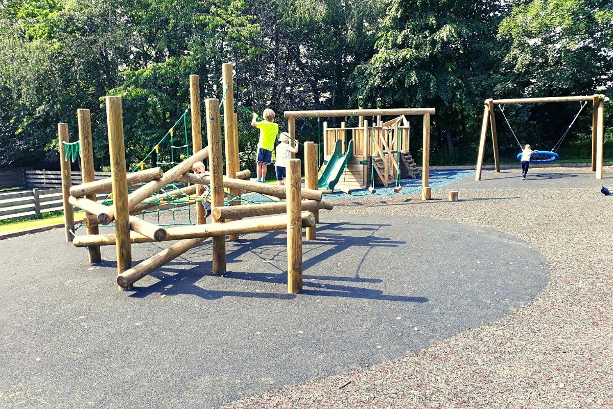 Kids Playground at Landal Sandybrooks