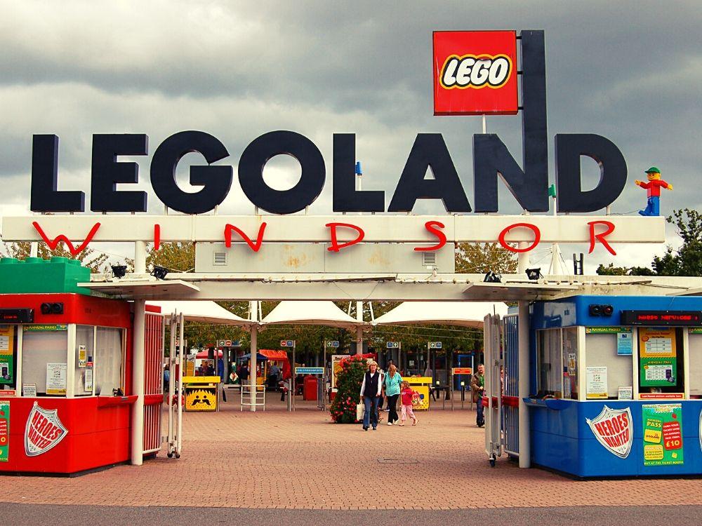 Legoland Windsor entrance