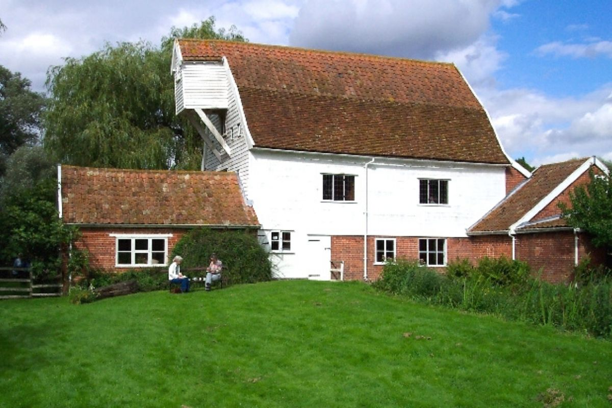Letheringham Mill Cottages in Suffolk