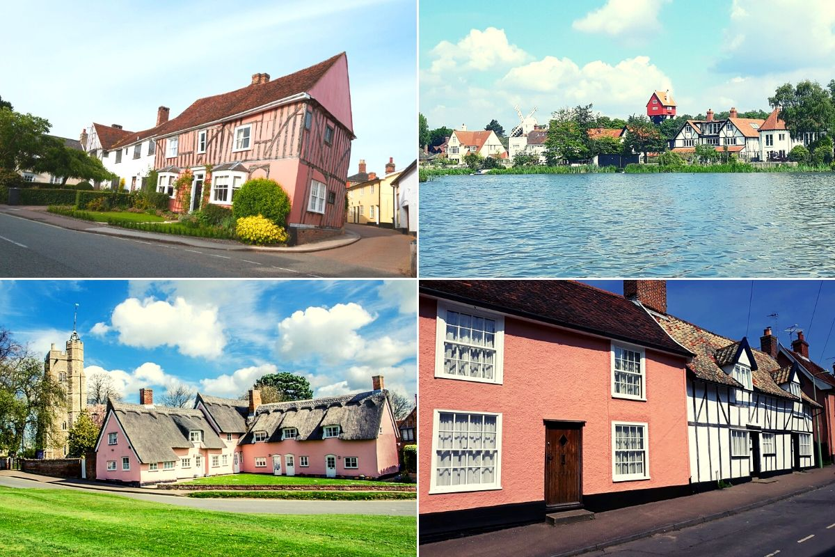 Prettiest villages in Suffolk