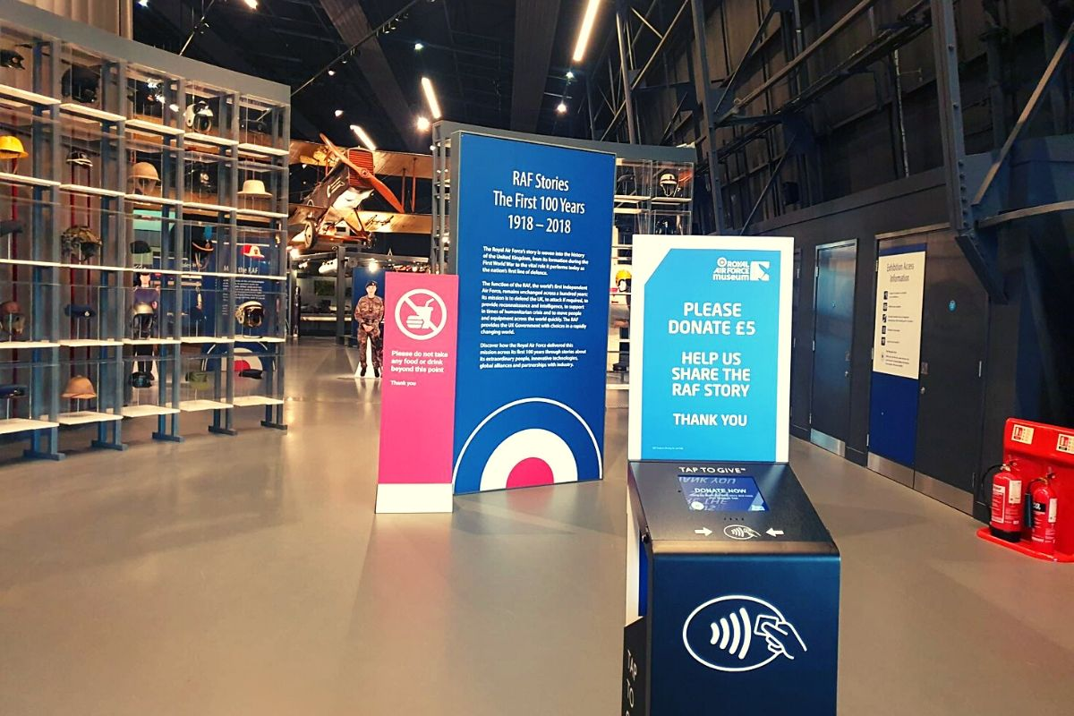 Entry is free at the RAF Museum London but a donation is encouraged