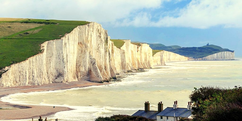 Seven Sisters in the South Downs National Park