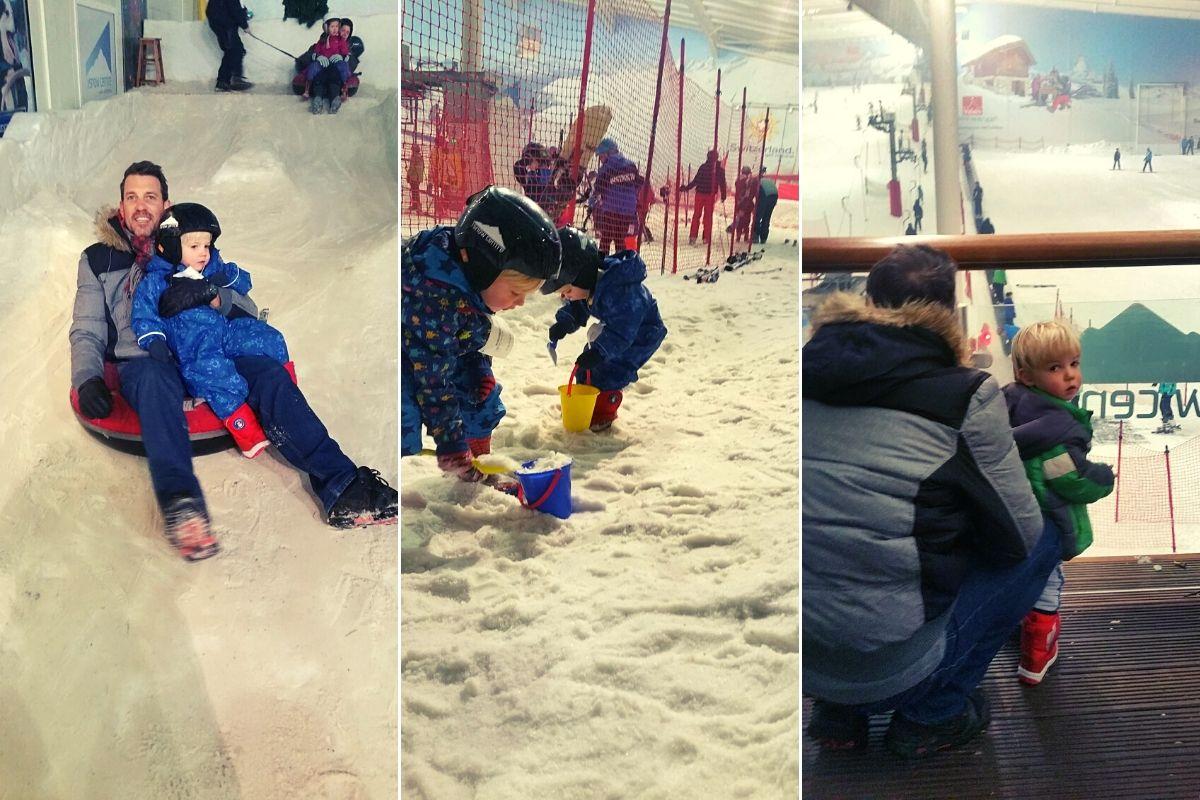 Snow fun at the Snow Centre in Hemel