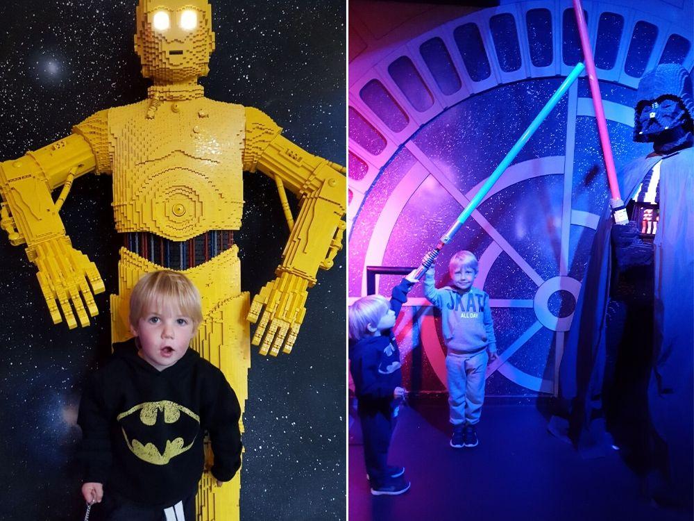 Star Wars Exhibition at Legoland Windsor