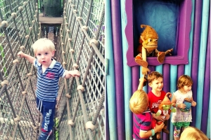 Treetop Adventures and meeting characters
