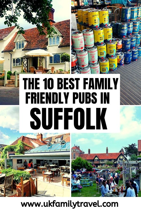 The 10 Best Family-Friendly Pubs on the Suffolk Coast