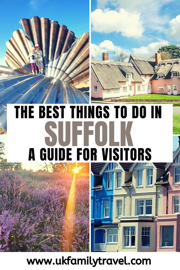 The Best Things to do in Suffolk - A guide for Visitors