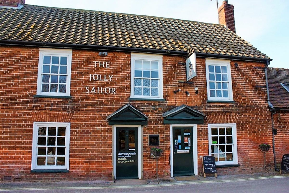 The Jolly Sailor in Orford Suffolk