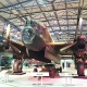 The Lancaster Bomber - the largest plane at the RAF Museum London