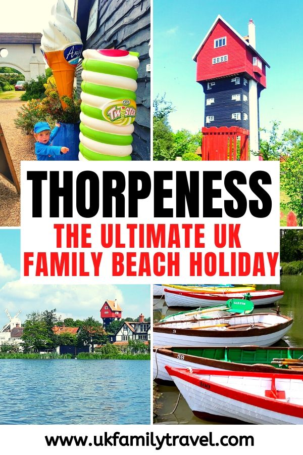 Thorpeness The Ultimate UK Family Beach Holiday