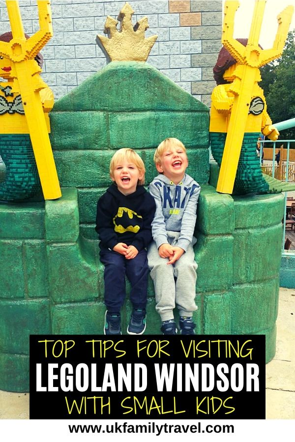 Top Tips for visiting Legoland Windsor with small kids