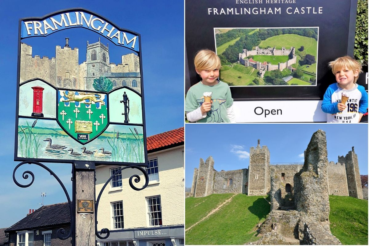 Visiting Framlingham Castle in Suffolk with Kids