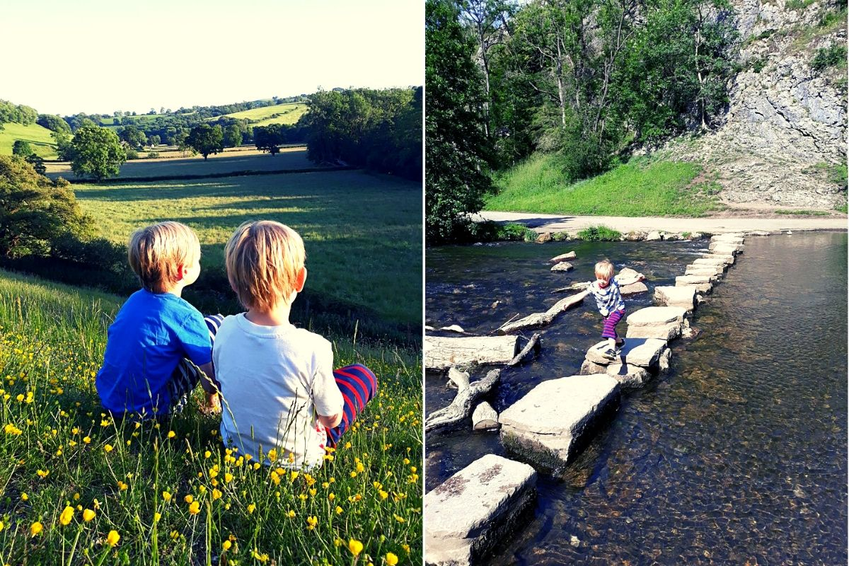 Visiting the Dove Dale Stepping Stones