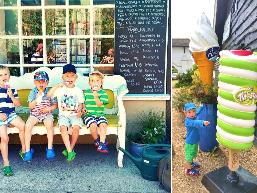 Where to find ice creams in Thorpeness
