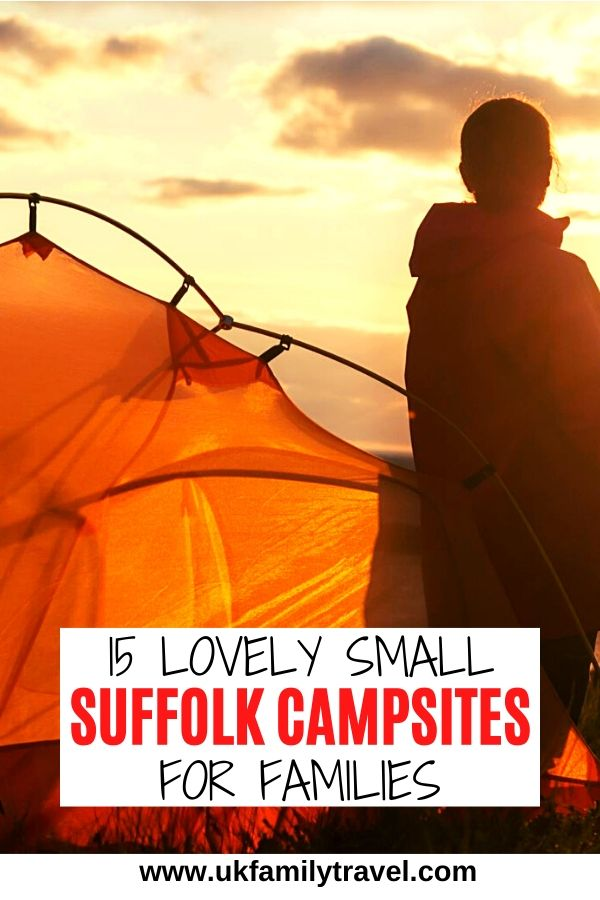 15 lovely small Suffolk Campsites for families