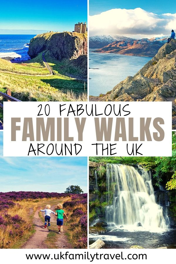 20 Fabulous Family Walks around the UK