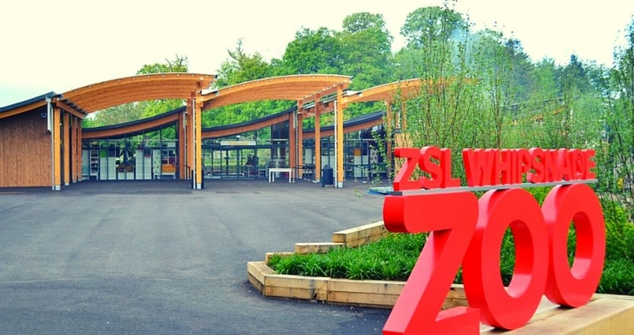 Entrance to ZSL Whipsnade Zoo