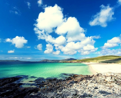 Luskentyre on the Isle of Harris in Scotland