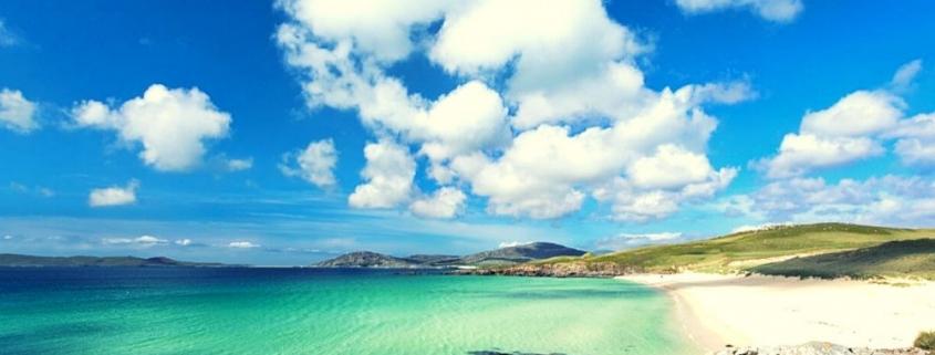 Luskentyre on the Isle of Harris in Scotland