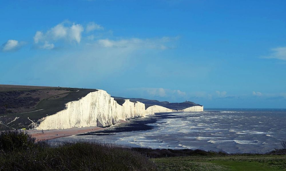 Seven Sisters on the Sussex coast