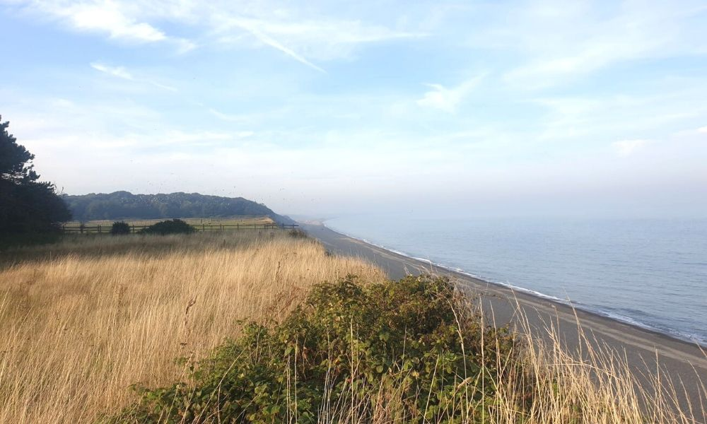The Suffolk Coast at Dunwich