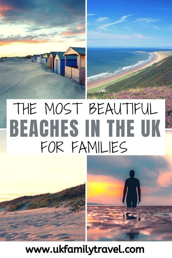 The Most Beautiful Beaches in the UK for Families