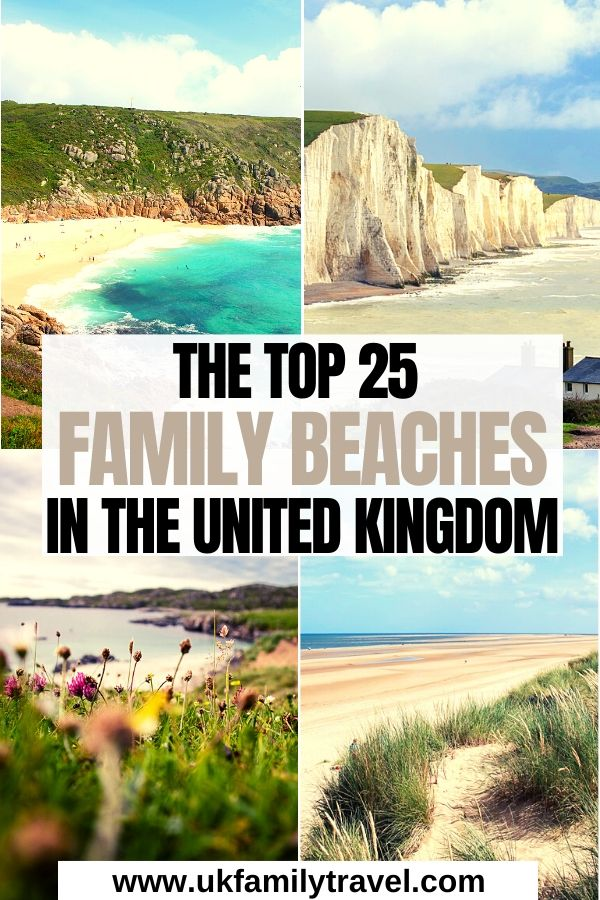 The Top 25 Family Beaches in the UK