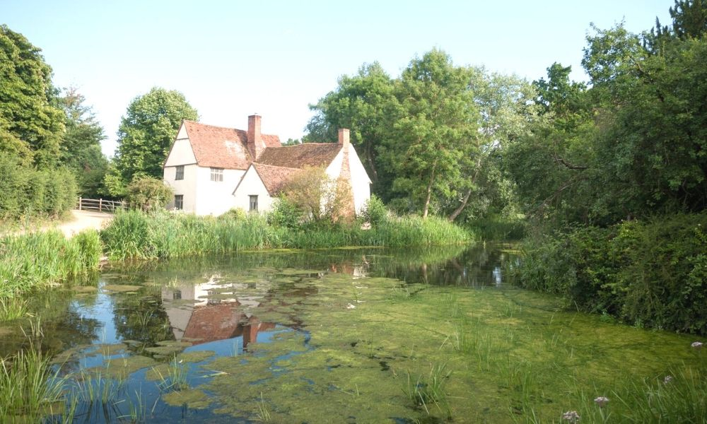 Willy Lott's Cottage from John Constable's painting 'The Hay Wain'