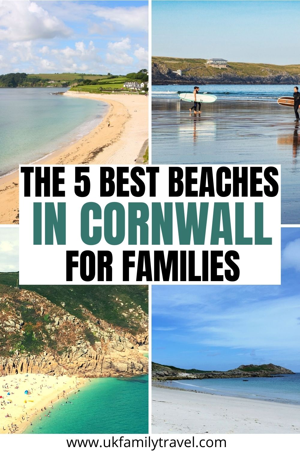 The 5 Best Beaches in Cornwall for Families